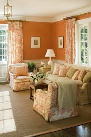 French Country Living Room Furniture Other A Play Of Peach Colours In The Living Room Ideas Reclining