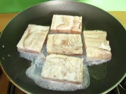 poisson a la creme et riz basmati au pays de cali
