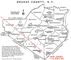 county map of ny minisink valley historical society maps of the minisink region