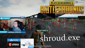 pubg twitch shroud is cheating grimmmz pan war tsm break does it again