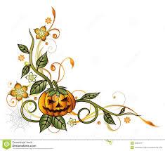 halloween pumpkin border free here