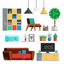livingroom lamp furniture interior set living room lamp wardrobe plants