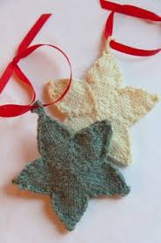 free knit tree ornament patterns knitting
