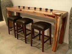 Breakfast Bar Table  Bar Stools Rustic By Redcottagefurniture - Kitchen bar tables