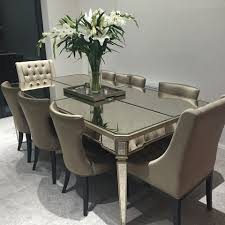 Dining Tables by Mirrored Dining Tables Home Design Ideas