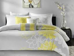 Grey Comforters Walwalun Bed Sheet Set Tags Online Bedding Stores Yellow And