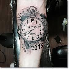 the 25 best clock tattoos ideas on pinterest time clock tattoo