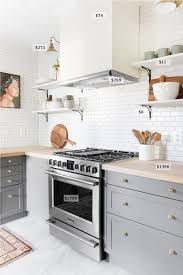 Low Budget Kitchen Cabinets A Budget Breakdown Of The Pittsburgh Kitchen Chris Loves Julia