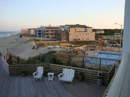 Comfort Inn On The Ocean Nags Head View From 3rd Floor Balcony Picture Of Comfort Inn South