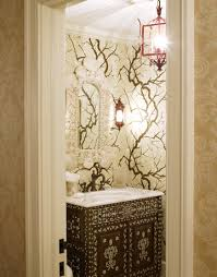 wallpaper designs for bathrooms powder room decorating ideas powder room design and pictures