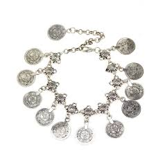 bracelet luxury charms images Bohemian gypsy vintage coin charm anklet ez4us jewelry jpg
