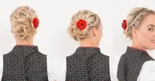 Trachten Frisuren Selber Machen Kurze Haare by Dirndl Frisuren Mittellange Haare Neue Frisuren 2017 Neue