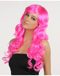pink monster wig u2013 spirit halloween party time pinterest