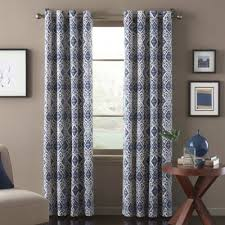 Gray Blue Curtains Designs Lobby Conference Room Option Marrakech Window Curtain Panel In