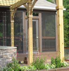 Screened In Pergola by Pergolas Archadeck Outdoor Living