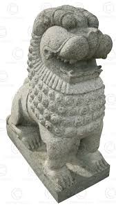 asian lion statues pair granite lions 09mm7a tamil nadu southern india