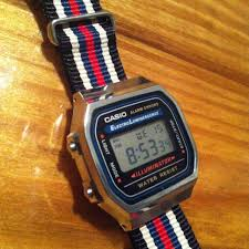 casio a168 casio a168 wanted a cheap retro nato that matched
