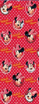 minnie mouse christmas wrapping paper buy gemma minnie mouse gift wrap paper 4m roll in cheap price