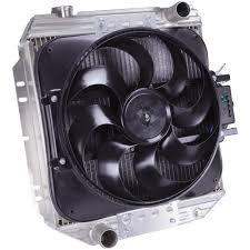 electric radiator fans flex a lite automotive direct fit flex a fit for 67 69 ford mustang