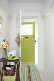 love the grey walls and robins egg door projects to try
