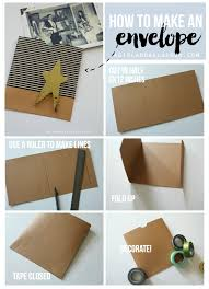 Make An Envelope Christmas Cards With Scotch Expressions Tapes A And A Glue Gun