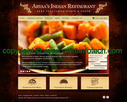 indian restaurant template design process thailand