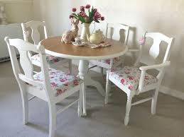 Shabby Chic Dining Table Set Shabby Chic Dining Table And Chairs Delightful Design Shabby Chic