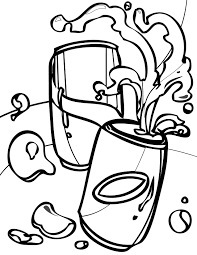 soda coloring page handipoints