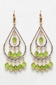 Peridot Chandelier Earrings Chandelier Earrings Gold Pearl And Silver Earrings Custom