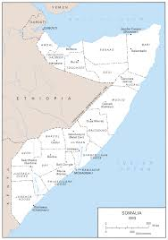 Civil War States Map The United States Army In Somalia 1992 1994