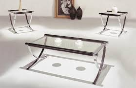 coffee and end tables for sale coffee table set of glass top contemporary coffee end tables wchrome