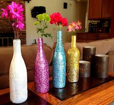 Diy Wine Bottle Vases Creative Diy Apartment Decorating Ideas Apartments Decorating
