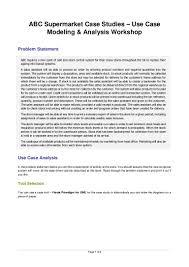 use case diagram abc supermarket workshop
