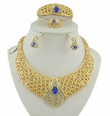 african gold necklace images African gold jewelry sets color guaranteed high quality wedding jpg