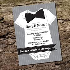 little man baby shower invitation for a boy instantly