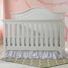 Convertible Crib White by Ti Amo Catania Convertible Crib In Snow White