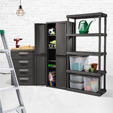 sterilite 4 shelf cabinet flat gray sterilite 4 drawer storage unit office garage tools large dorm