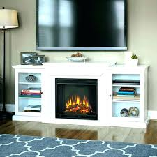 tv brick fireplace hide wires install over cords modern living