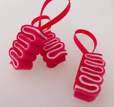 felt sushi christmas ornaments ebi shrimp u0026 spam musubi ribbon