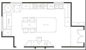 how to plan layout of kitchen decoration open floor plan layouts