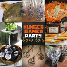 great fun etc hunger games party how to u0027s with free printables