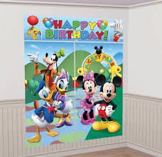 mickey mouse decorations mickey mouse clubhouse setter birthday party wall decoration