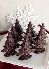 christmas tree molded chocolate delysia chocolatier