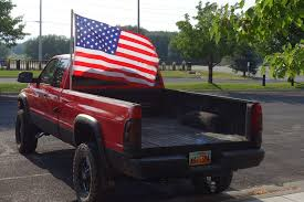 american flag truck the things you see in a parking lot tarva and alambil