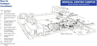 Miami Dade Map Miami Dade College Medical Center Campus Map 950 Nw 20th St