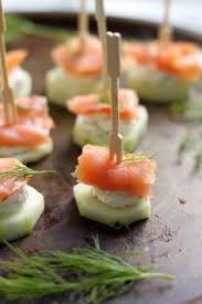 light appetizers for parties smoked salmon and cream cheese cucumber bites recipe cucumber