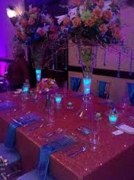 Lights In Vase Sneak Peak At The Flowers Centerpieces Wedding And Weddings