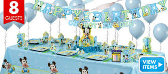 Party City Minnie Mouse Decorations Mickey Mouse 1st Birthday Party Supplies Party City Birthday