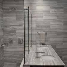 Modern Gray Tile Bathroom Gray Modern Vanity Bathroom Photos Hgtv