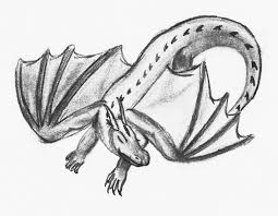 9 best images of dragon sketches in pencil detailed dragon